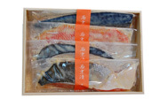葉山日影茶屋 魚の西京味噌漬け 4種4枚入り[S-4]