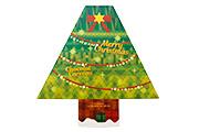 葉山日影茶屋 クリスマスツリーボックス 葉山のショコラ・カロ 7個入