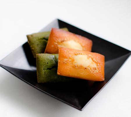葉山日影茶屋 白味噌・抹茶フリアン 5個入[FF-5]