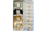 葉山日影茶屋 小浜饅頭・おかき詰め合わせ12個入り(142)